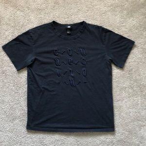 H&M Black Connection T-Shirt